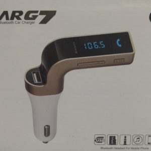 Carg7 Bleutooth car charger